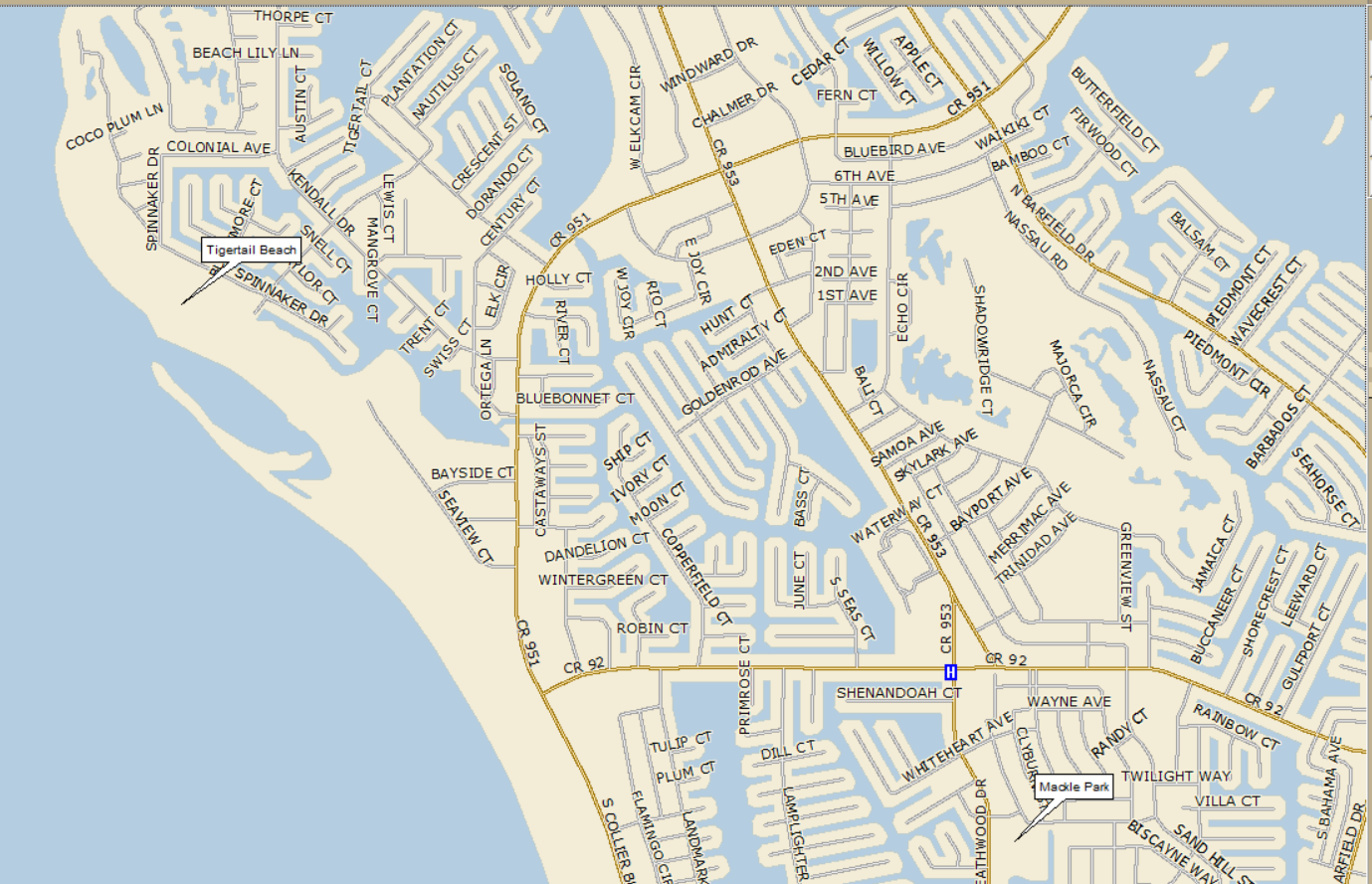 Directions From Cape Coral To Marco Island